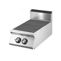 Elektrisk matlagning hop med 2 tippningsplattor vardera 4 kw