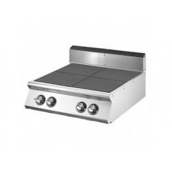 Elektrisk matlagning hop med 4 tippningsplattor vardera 4 kw