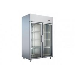 Frost - Frysskåp 2 Glassdörrar ,Ventilerad Kyla Med Air Flo