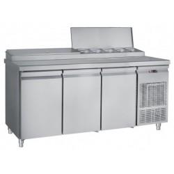Frost - Kallskänksskylbänk Med Inbyggd Kylränna 10 St 1/4 K