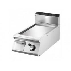 Stekbord, bordsmodell, slät kromad platta