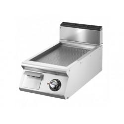 Elektrisk grill, bordsmodell, räfflad plåt