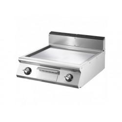 Elektrisk grill, bordsmodell, jämn platta