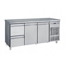 Frost - Kylbänk  2 Dörrar +2 Draglådor 1/2 ,185 Cm