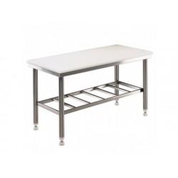 Arbetsbord med polyeten topp, 1500x700, tjocklek 25 mm