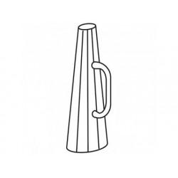 Funnel dränering kokande pan 150 liter