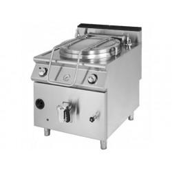 Gas kokning pan, indirekt uppvärmning, kapacitet 150 liter