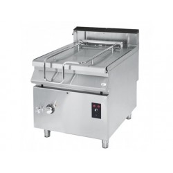 Gas tippnings stekbord, kapacitet 120 liter, rostfritt...