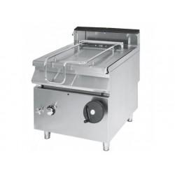 Tippstekbord, kapacitet 120 liter, rostfritt stål väl