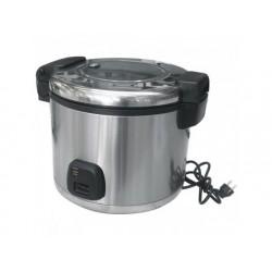Elektrisk riskokare i rostfritt stål, 10 liter