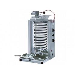 Elektrisk kebabgrill med 2 värmezoner, top motor, 35 kg