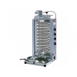 Elektrisk kebabgrill med 3 värmezoner, top motor, 75 kg