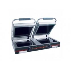 Kontakt grill med keramiska glasplattor, 2x 250x250 mm