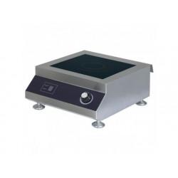 Induktionshäll 5 kw, bänkmodell, en platta 300x300 mm