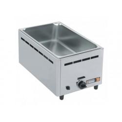Gas vattenbad, bänkmodell, en skål gn h   150 mm