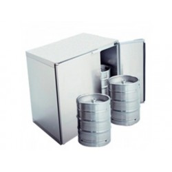 Ölfat chiller utan kylenhet, 4x 50 liter