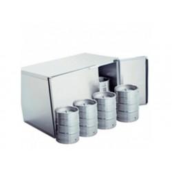 Ölfat chiller utan kylenhet, 8x 50 liter