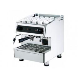 Espressomaskin, halvautomatisk, en grupp, 3 liter