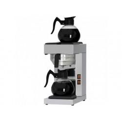 Kaffebryggare med 2 dekantrar 1,8 liter, manuell
