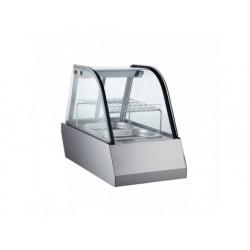 Uppvärmd bänk display 1x gn 1/1 med skjutdörrar, + 30 ° /...