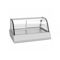 Uppvärmd bänk display 3x gn 1/1 med skjutdörrar, + 30 ° /...