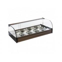 Uppvärmda display, bänkmodell, 4x gn 1/3 h   40 mm