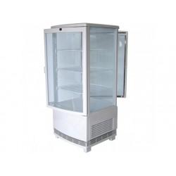 Upprätt kylmonter med 3 hyllor, bänkmodell, 86 liter, 0 °...