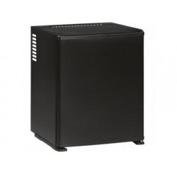 Minibar med 2 hyllor, svartfärgade, 30 liter
