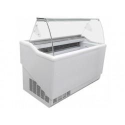 Glasskyl för 9 + 9 kantin vardera 5 liter, -12 ° / -22 ° c
