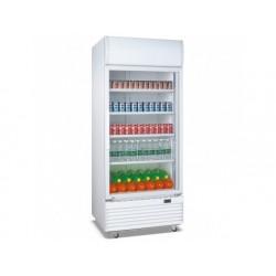 Upprätt drink kylare 660 liter med glasdörr och...