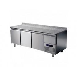 Kyldisk för konditorivaror 3 dörrar 600x400 mm med granit...