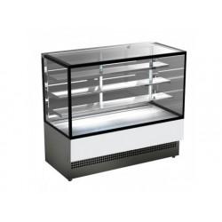 Display för varmrätter, varmdisplay med 3 hyllor och...