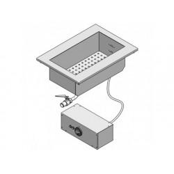 Drop-in elektrisk vattenbad, en skål gn 1/1 h   150 mm