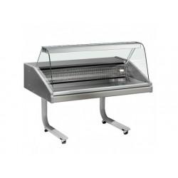 Refrigerated fiskdisken på hjul, statisk kylning, 0 ° / +...