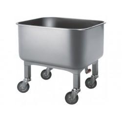 Tvättning vagn med avtappningskran, 130 liter