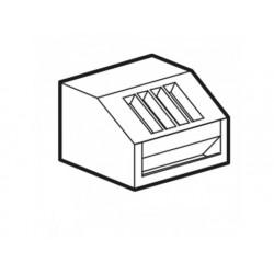 Bestick och bröd dispenserenhet, med pvc bestick dispenser