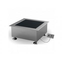Drop-in induktionshäll, en tallrik ø 280 mm 3,5 kw