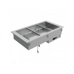 Drop-in vattenbad, elektrisk, 5x gn 1/1 h   150 mm