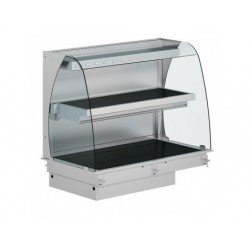 Drop-in upphettad keramiskt glas display, 2 våningar,...