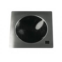 Drop-in induktion wok häll, en tallrik ø 300 mm 5 kw - 400v