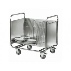 Transportvagn för plattor, kapacitet 200 plattor