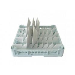 Plattan rack, kapacitet 15 plattor, 500x500 mm