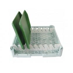 Brickställ, kapacitet 8 brickor, 500x500 mm