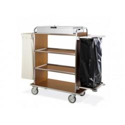 Kammar vagn med 4 våningar, box, ett linne väska och...