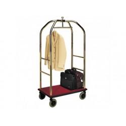 Bagage vagn med förmässingad struktur