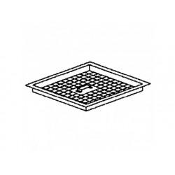 Dränerande filter för golv rännor