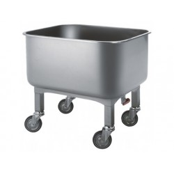 Tvättning vagn med avtappningskran, 280 liter