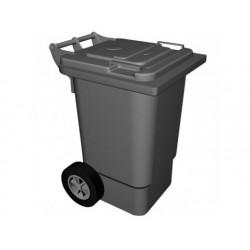Soptunna på hjul, 60 liter