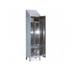 Omklädningsrum skåp med 2 dörrar, h   2150 mm