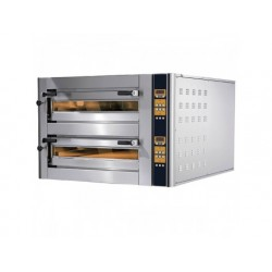 Elektrisk pizzaugn för 9 + 9 pizzor ø 350 mm, elektronisk...